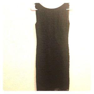 Knee length sheath dress